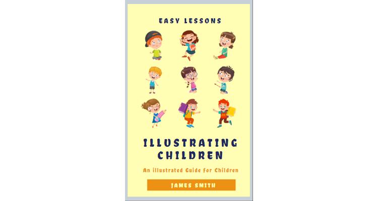 E-Book Children Book Cover Template