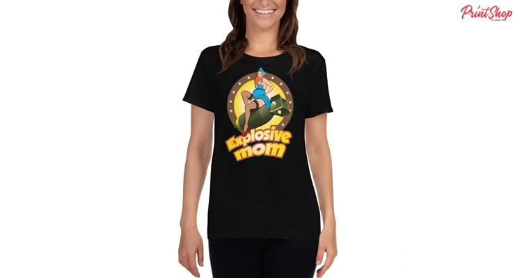 Explosive mom Women's T-Shirt