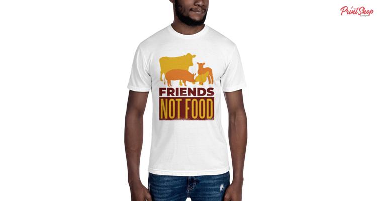 Friends Not Food Men's T-Shirt