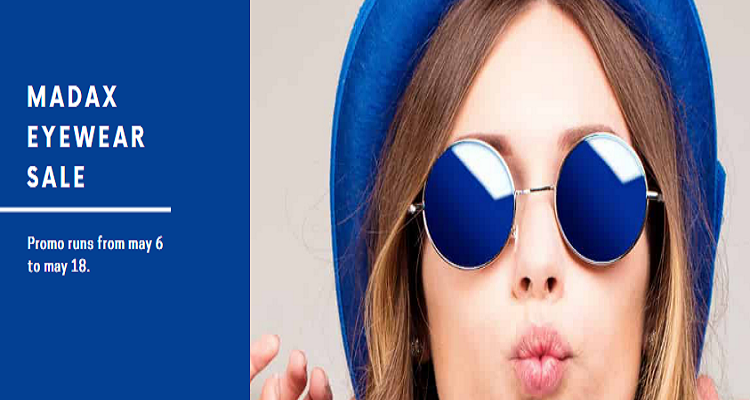 Glasses Facebook Cover Template