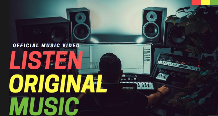 Music YouTube Video Thumbnail Template