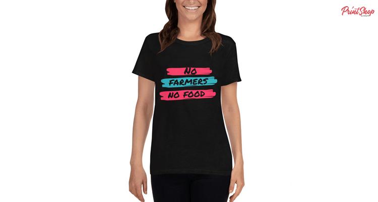 No Farmers No Food Women's T-Shirt
