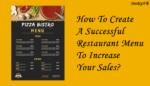 Successful Restaurant Menu