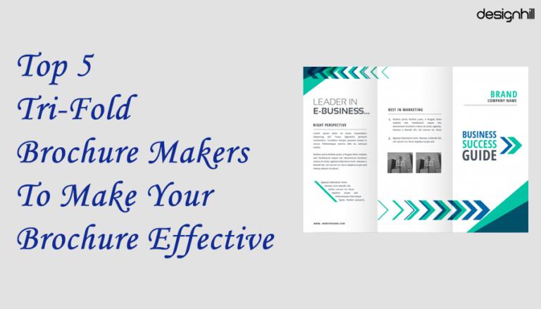 Tri-Fold Brochure Makers
