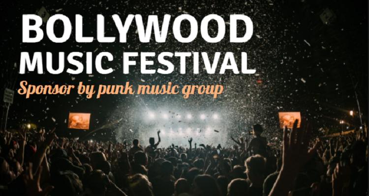 Bollywood Music Festival Channel Art