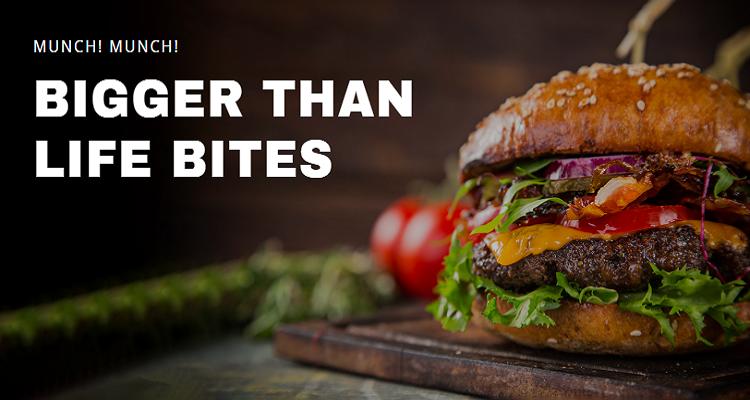 Burger Twitter Post