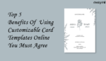 Card Templates Online