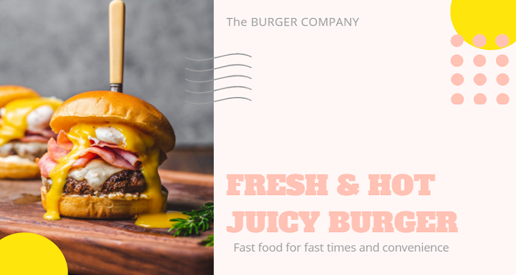 Fast Food Thumbnail Template