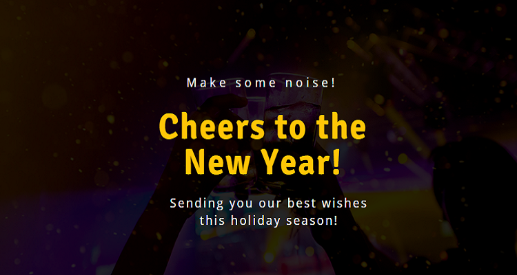 New Year Twitter Post Template