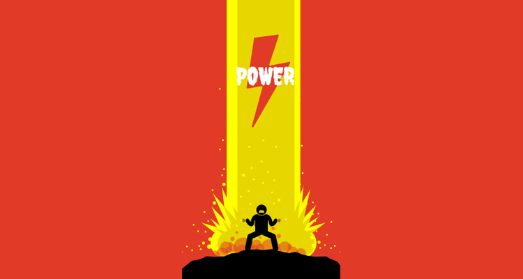 Power Wallpaper Template