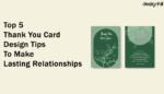 Thank You Card Design Tips