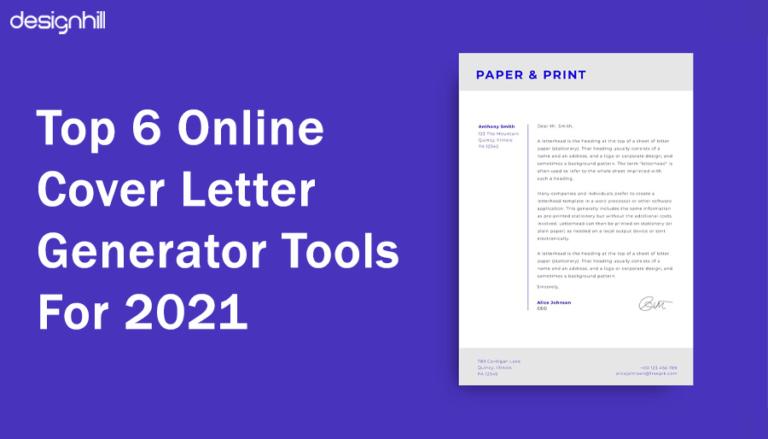 Online Cover Letter Generator