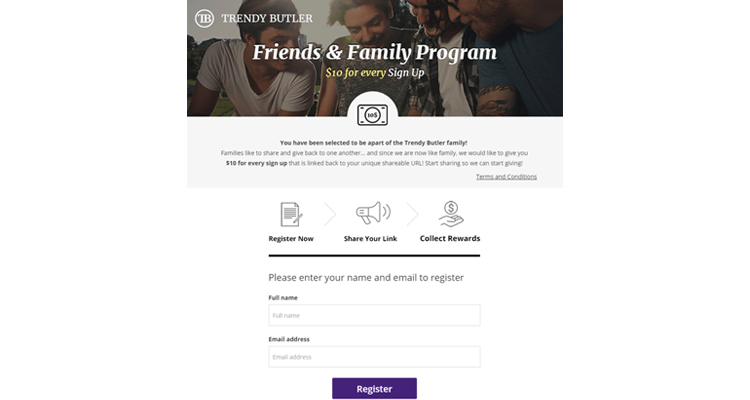 Register On Website