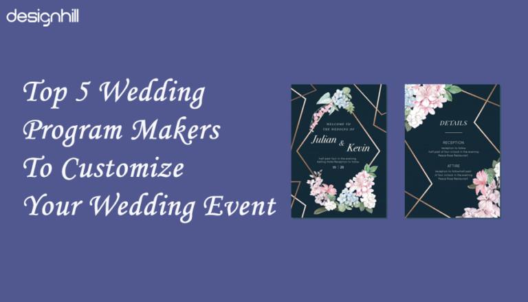 Wedding Program Makers