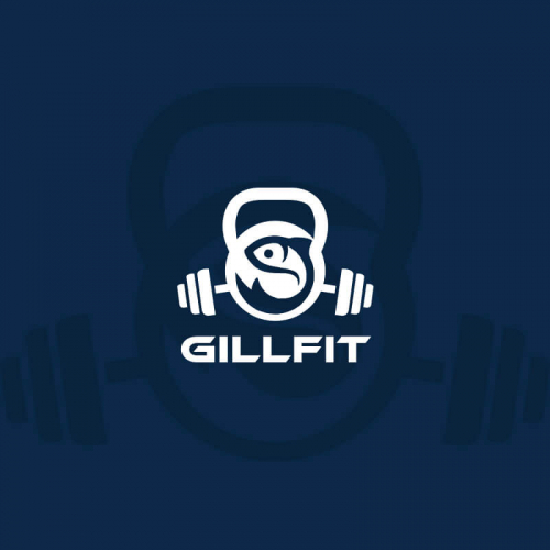 Fitness clothing logos