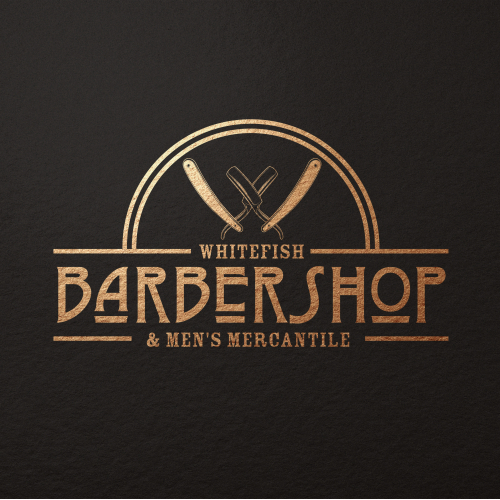 Design barber shop logos