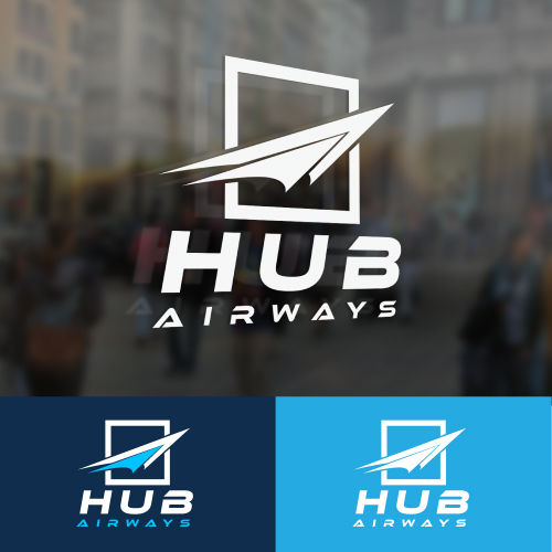 Hub airways logo