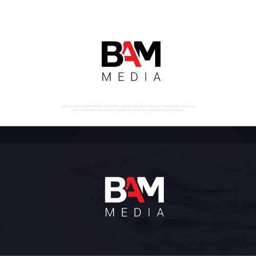 Media Service Logo Design Charlotte