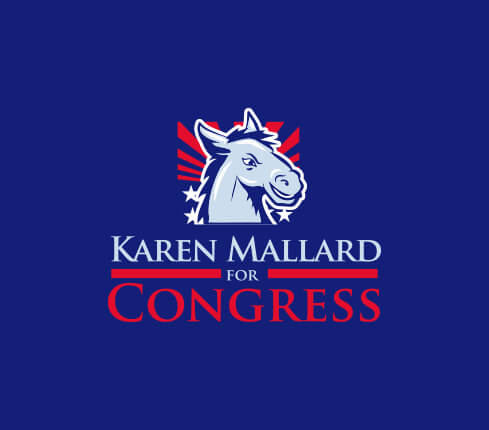 Online Political Logo
