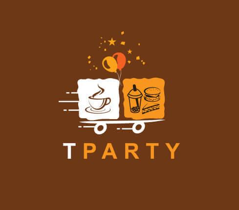 Fast food, drink & beverage logos
