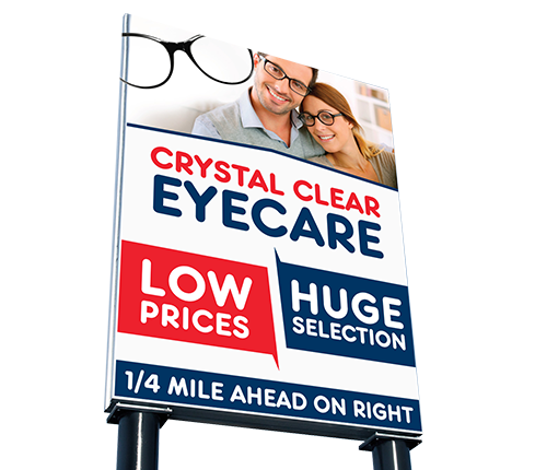 EyeCare Billboard Design
