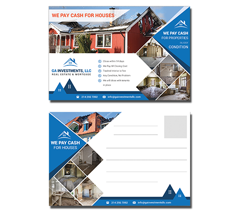 Property Postcard Design