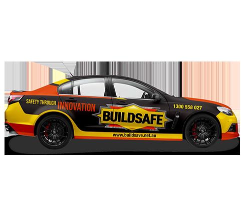 Buildsafe Car Wrap Design