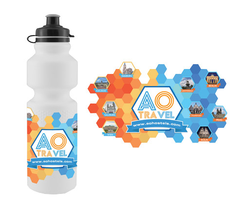 Bottle Merchandise Design