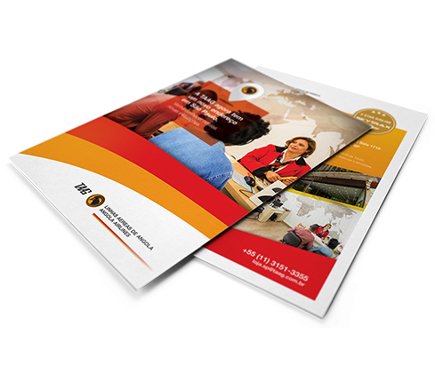 Kit & Home Leaflet Design Template