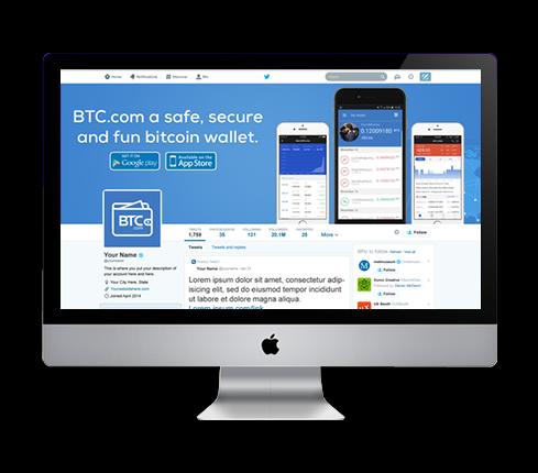 Banking Twitter Cover Design