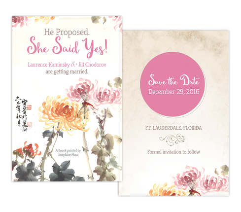 Custom Invitation Card Design