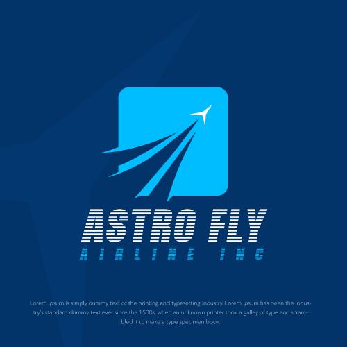 Online airline logo