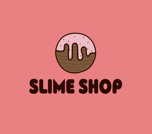 slime shop logos