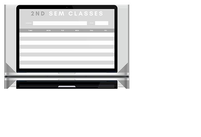 Class scheduling maker