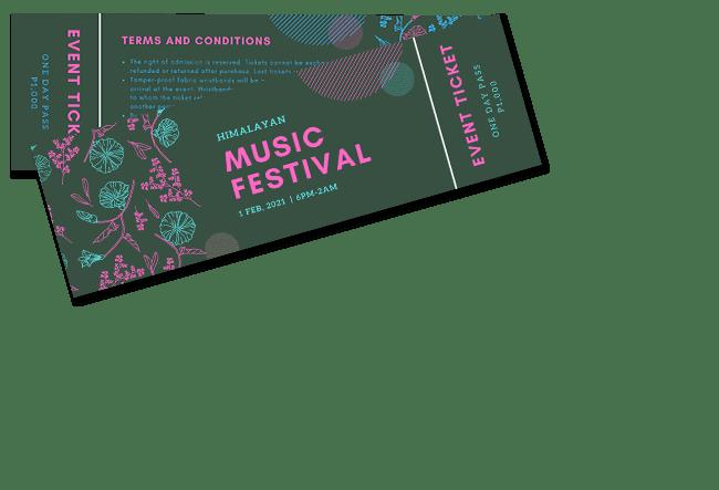 Event ticket Maker