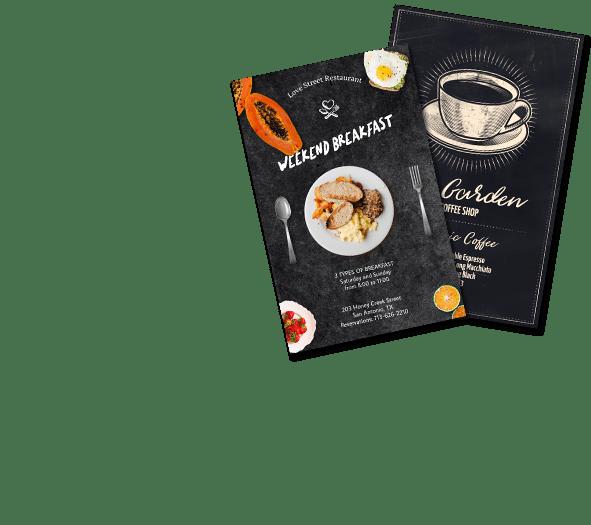restaurant flyer maker