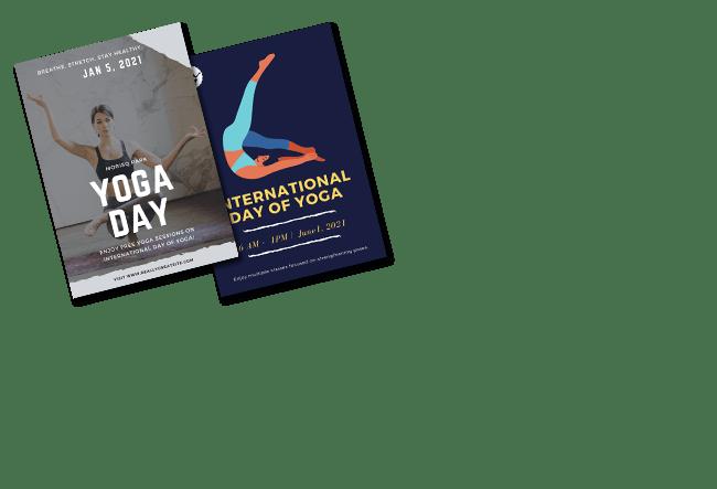 International Yoga Day Poster Maker