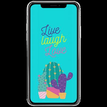 Phone wallpaper size