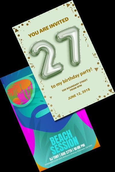 party flyer maker online