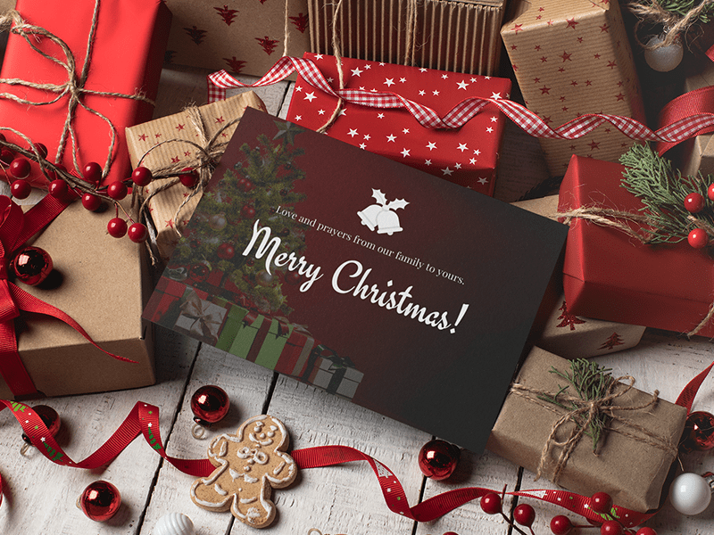 Christmas greeting cards maker online