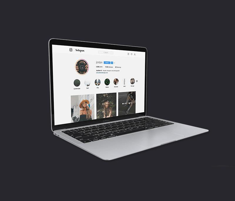 Social image sizes online