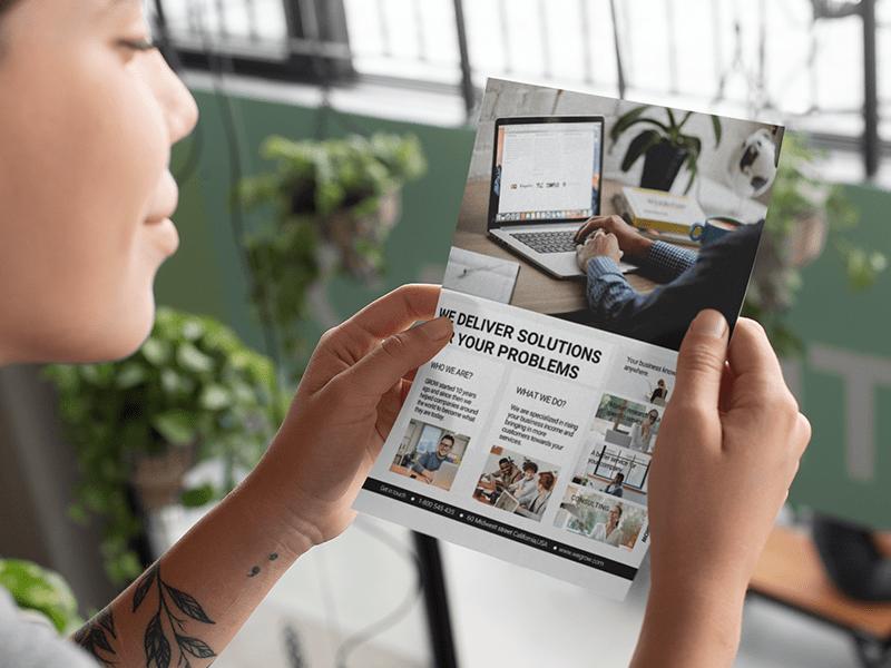 Create business flyer online