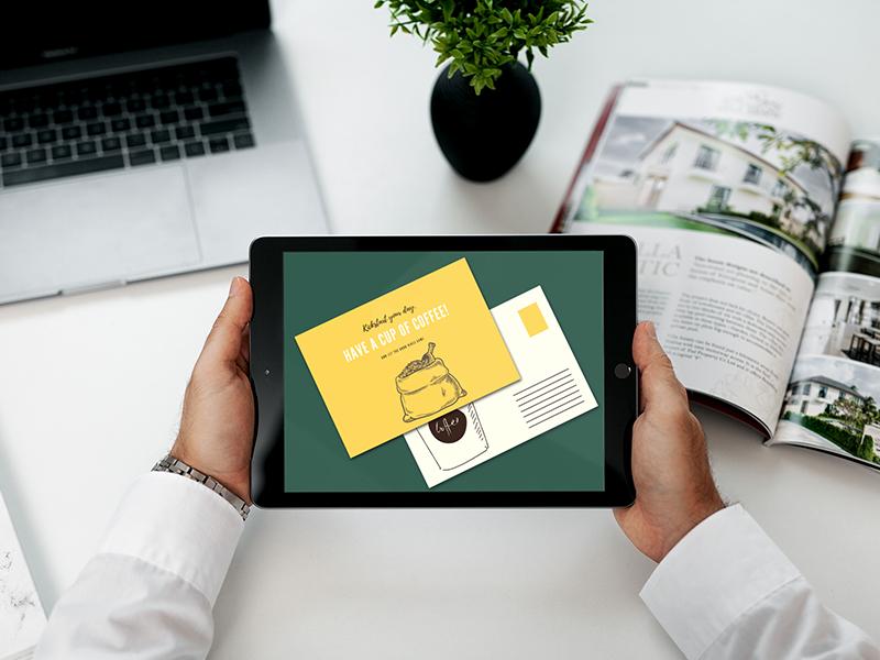 create online postcard maker