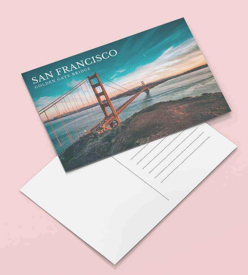 Postcard dimentions