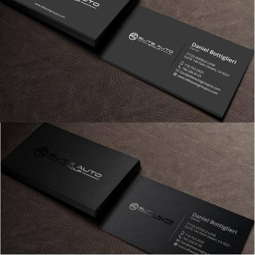 Auto Business Card Design