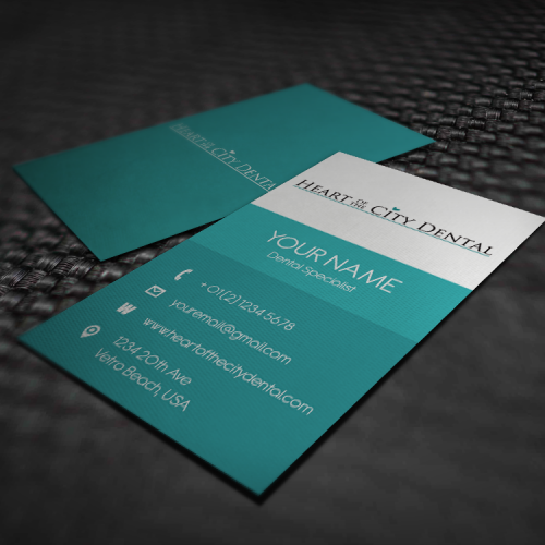 Dental Professional Business Card Designs