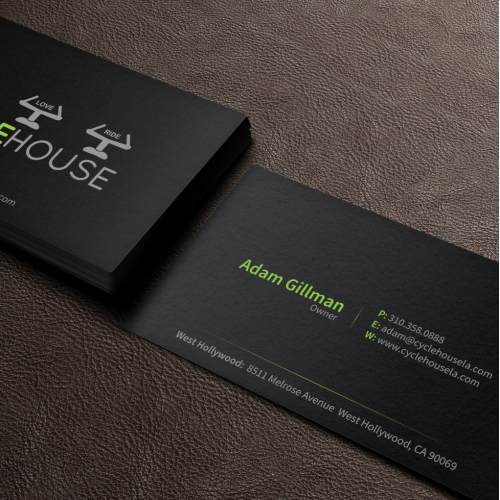 Fitness Best Business Card