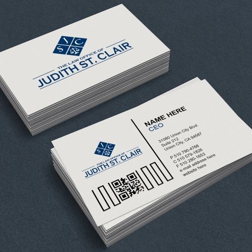 Law Professional Business Card Designs