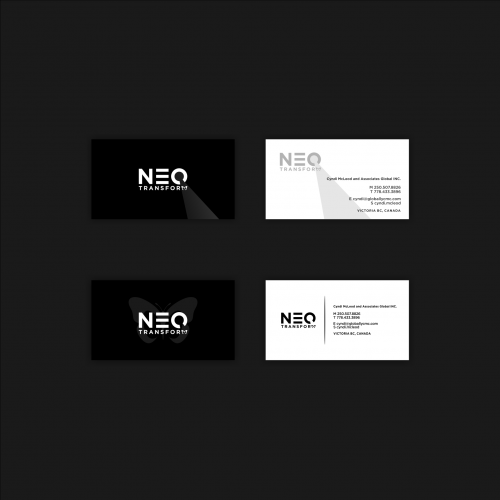 telephone professional card designs neo transform business card - Professional Business Cards