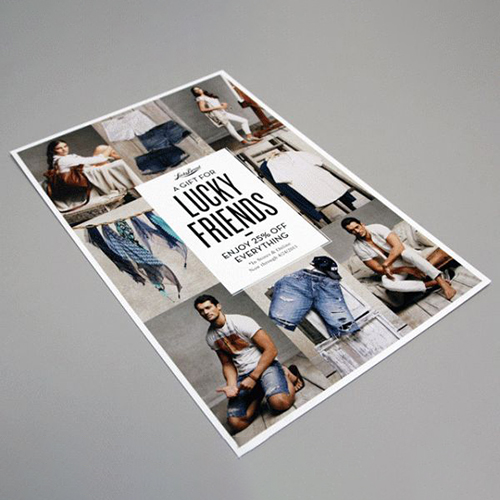 Fashion Postcard Design